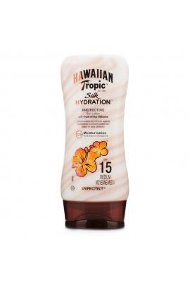 Hawaiian Tropic Silk Hydration Protective Sun Lotion Spf15