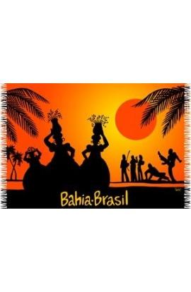 Canga de Praia Bahia Sunset - Bali Blue