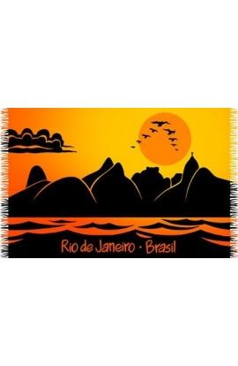Canga de Praia Rio Sunset - Bali Blue