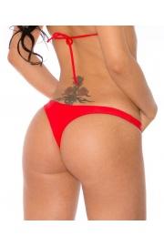 Vermelho Thong Bottom